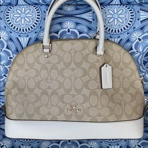 AUTHENTIC COACH SIGNATURE SIERRA SATCHEL